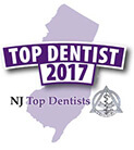 NJ Top Dentist 2017 award