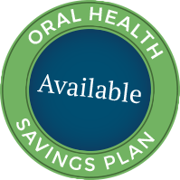 oral health savings plan button