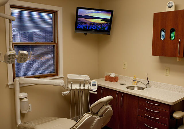dental examination room